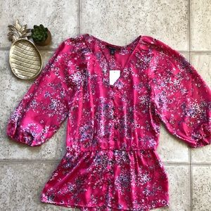 NWT Banana Republic Petite blouse, size XS